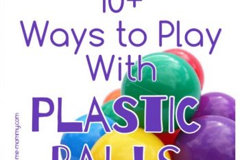 Ways to play with Plastic balls Outside