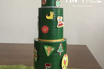 Christmas Tin Tree