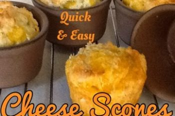 Easy & Quick Cheese Scones