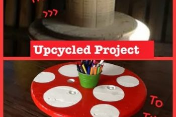 Upcycled Project: Toad stool Table