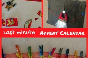 Last minute Advent Calendar