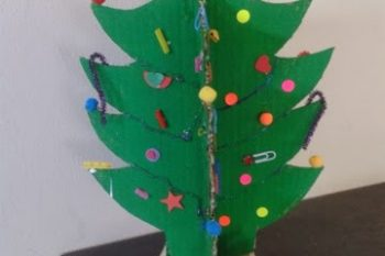 Recycle Crafts: Christmas Tree
