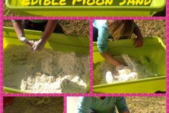 Edible Moon Sand