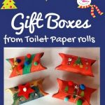 Gift Boxes from Toilet Paper rolls