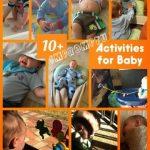 10+ Impromptu Activities for Baby
