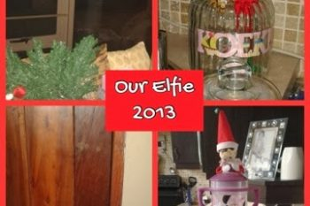 Our Elfie: Day 1- 12