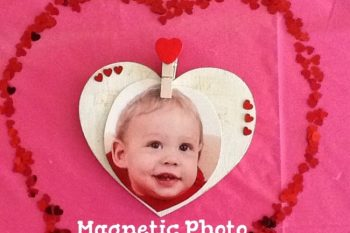 Valentine's Day Gifts: Magnetic Photo Holder