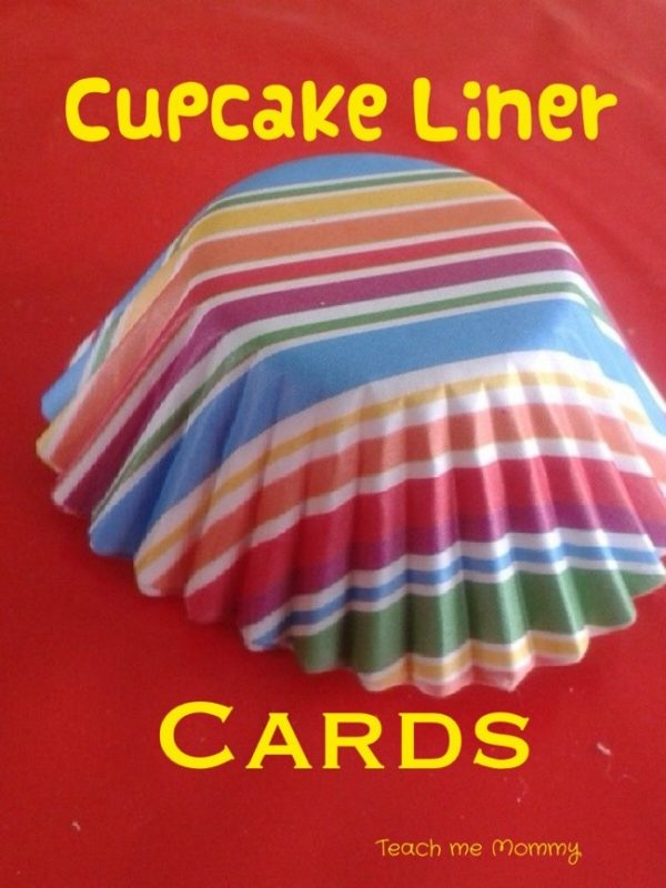 Christmas Mini Cupcake Liners