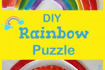 DIY Rainbow Puzzle
