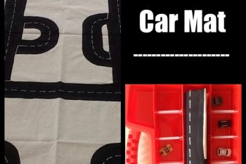 Roll Up and Go Car mat