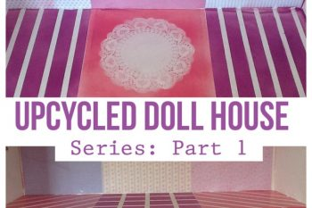 Upcycled Doll House Series #1