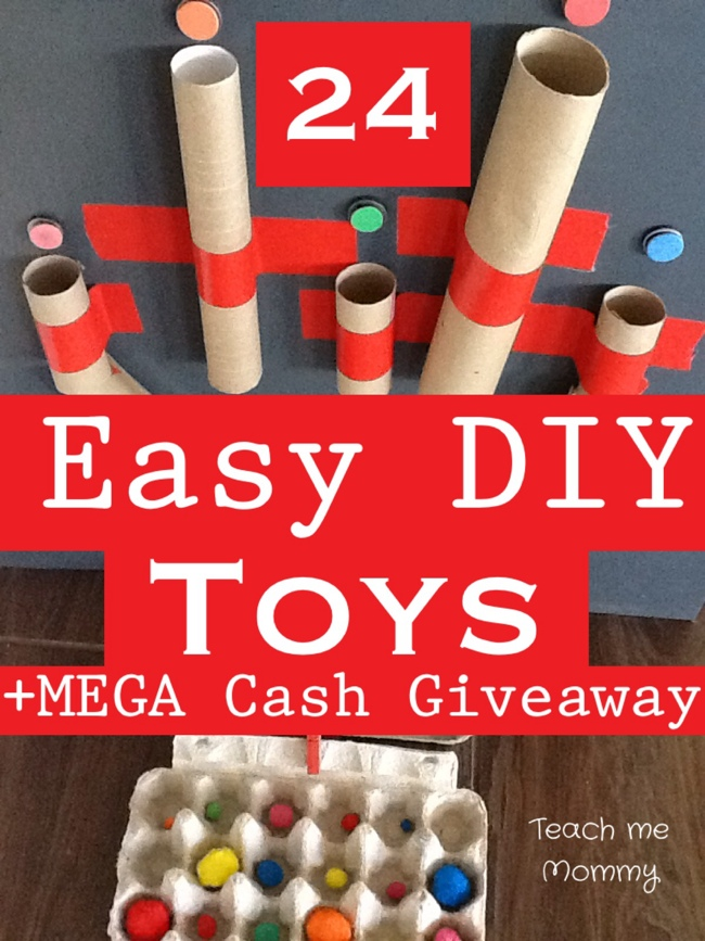 easy diy toys teach me mommy