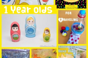 Roundup- Busy Bags for 1 year olds