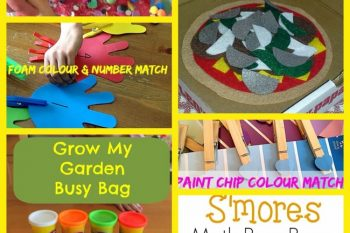 Roundup- Busy Bags for 5 and 6 year olds