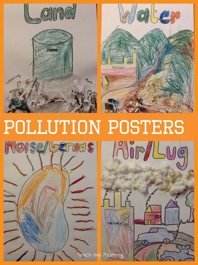 Our Week: Pollution Th... Water Pollution Poster In Hindi
