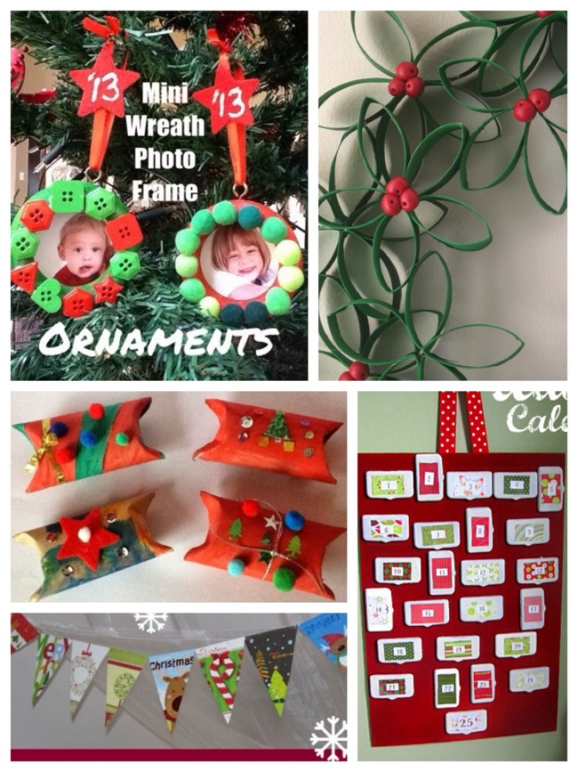 recycled christmas crafts