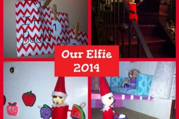 Our Elf on the Shelf 1