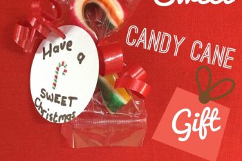 Sweet Candy Cane Gift