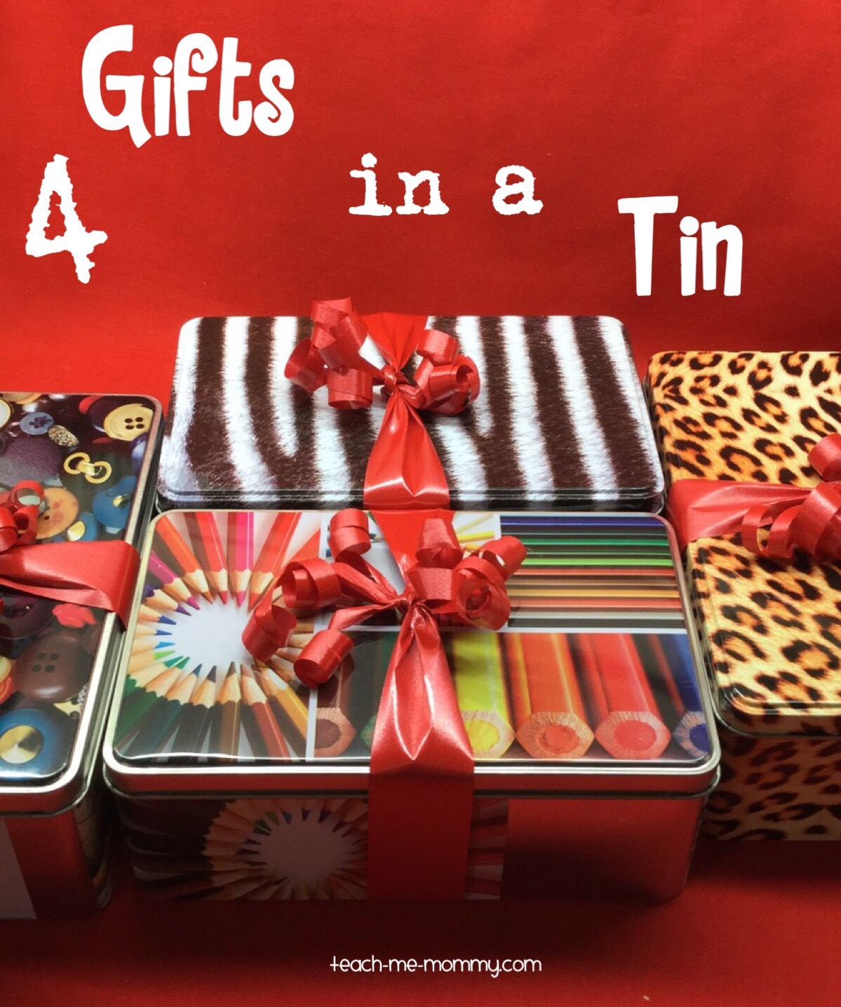 Gifts in tins