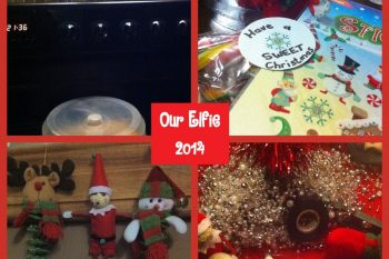Our Elf on the Shelf 2