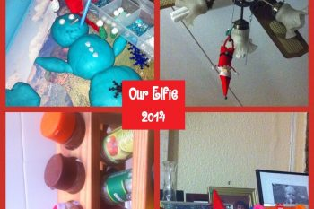 Our Elf on the Shelf 3