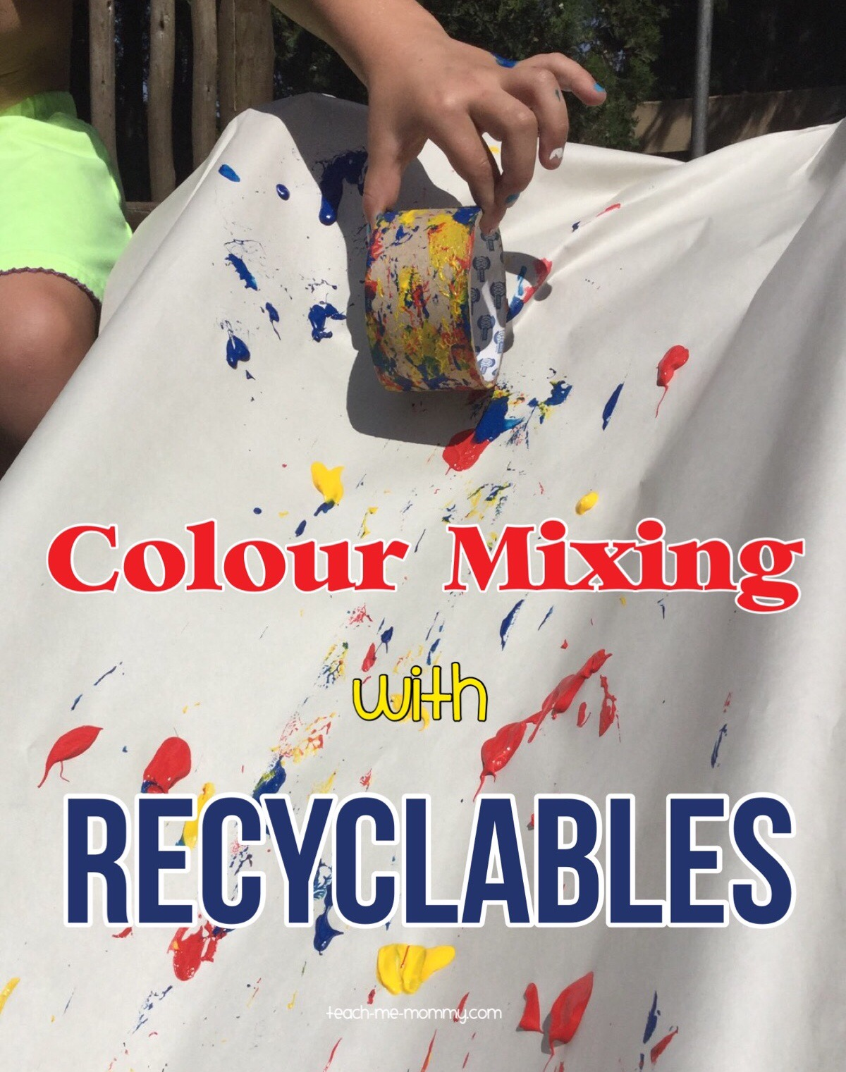 Colour Mixing with Recyclables