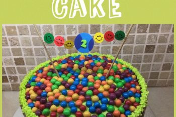 Easy Ball Themed Party Cake
