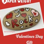 Rock paper weight