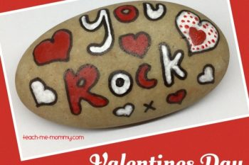 Paper Weight Rock Valentines Day Gift