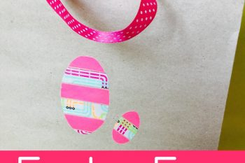 Washi Tape Easter Egg Sticker