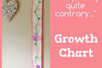 Mary, Mary Quite Contrary Growth Chart