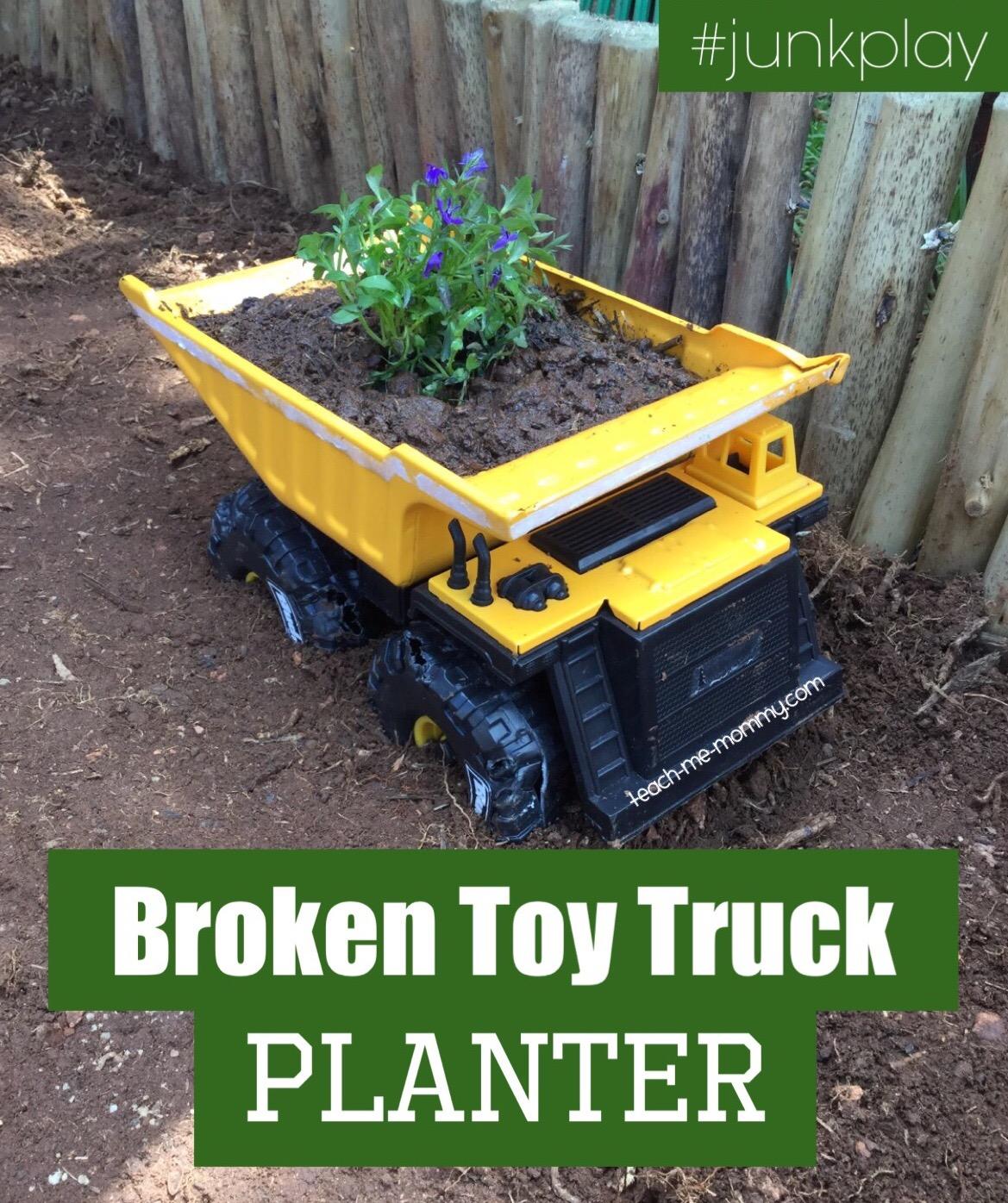 Broken Toy Truck