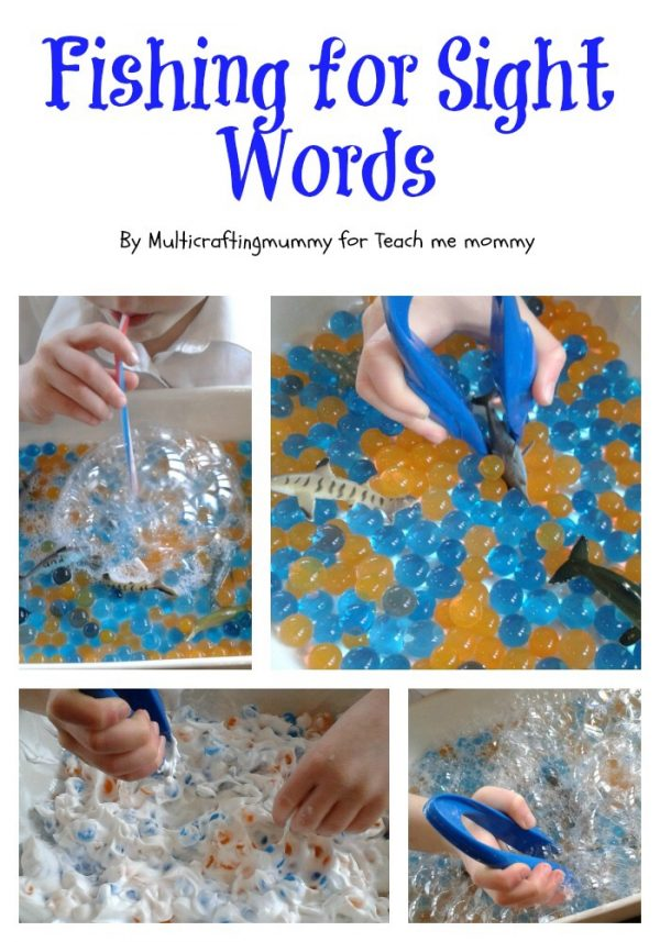 Sight Word Fishing Teach Me Mommy