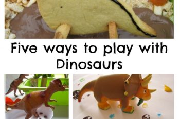 Five Ways to Play with Dinosaurs