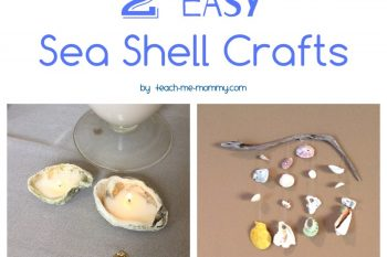 2 Easy Sea Shell Crafts