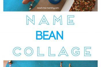 Name Bean Collage