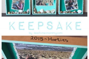 Beach Holiday Keepsake