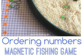 Ordering Numbers Fishing Game
