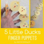 Five Little Ducks Finger Puppets