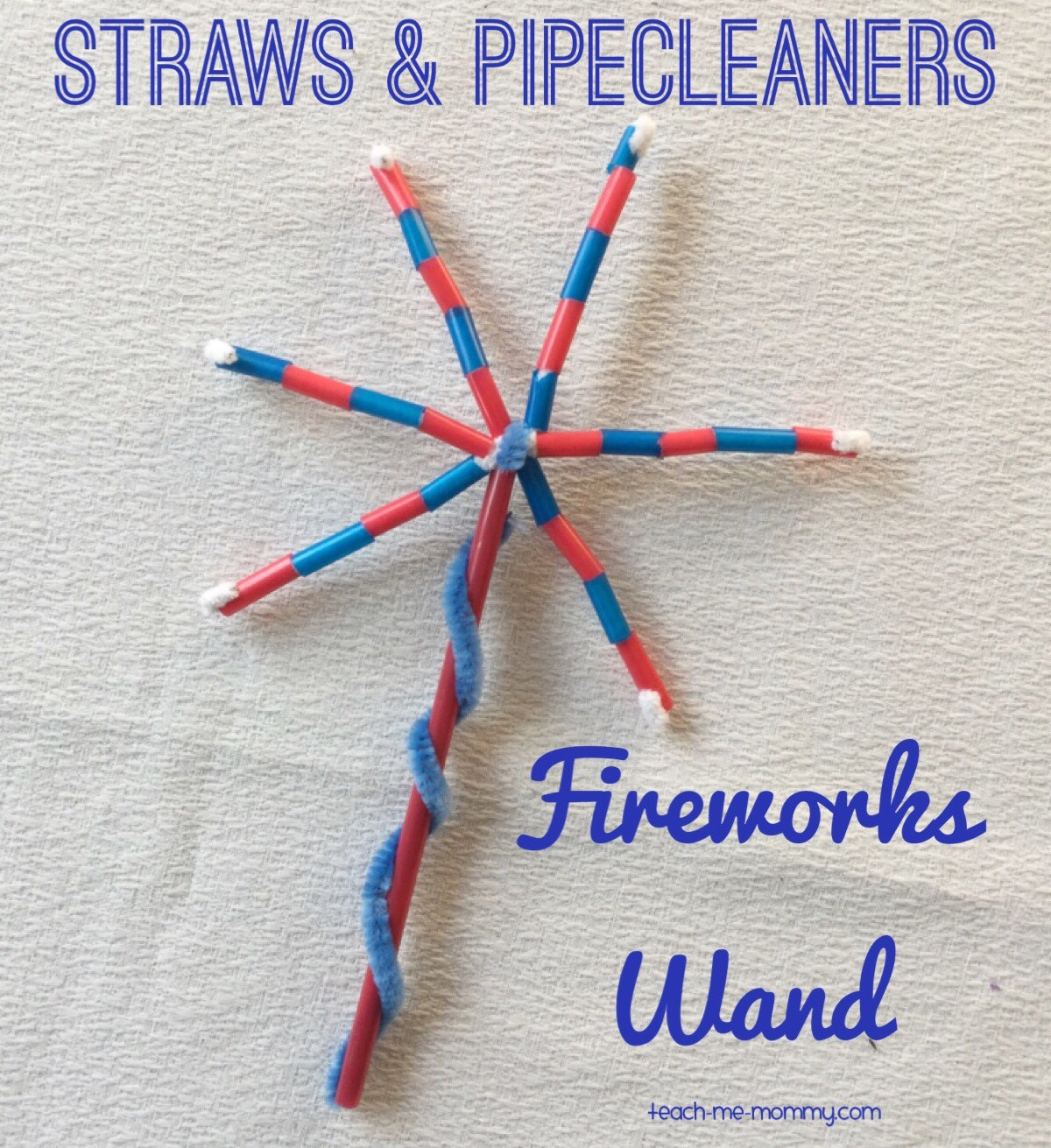 fireworks wand craft