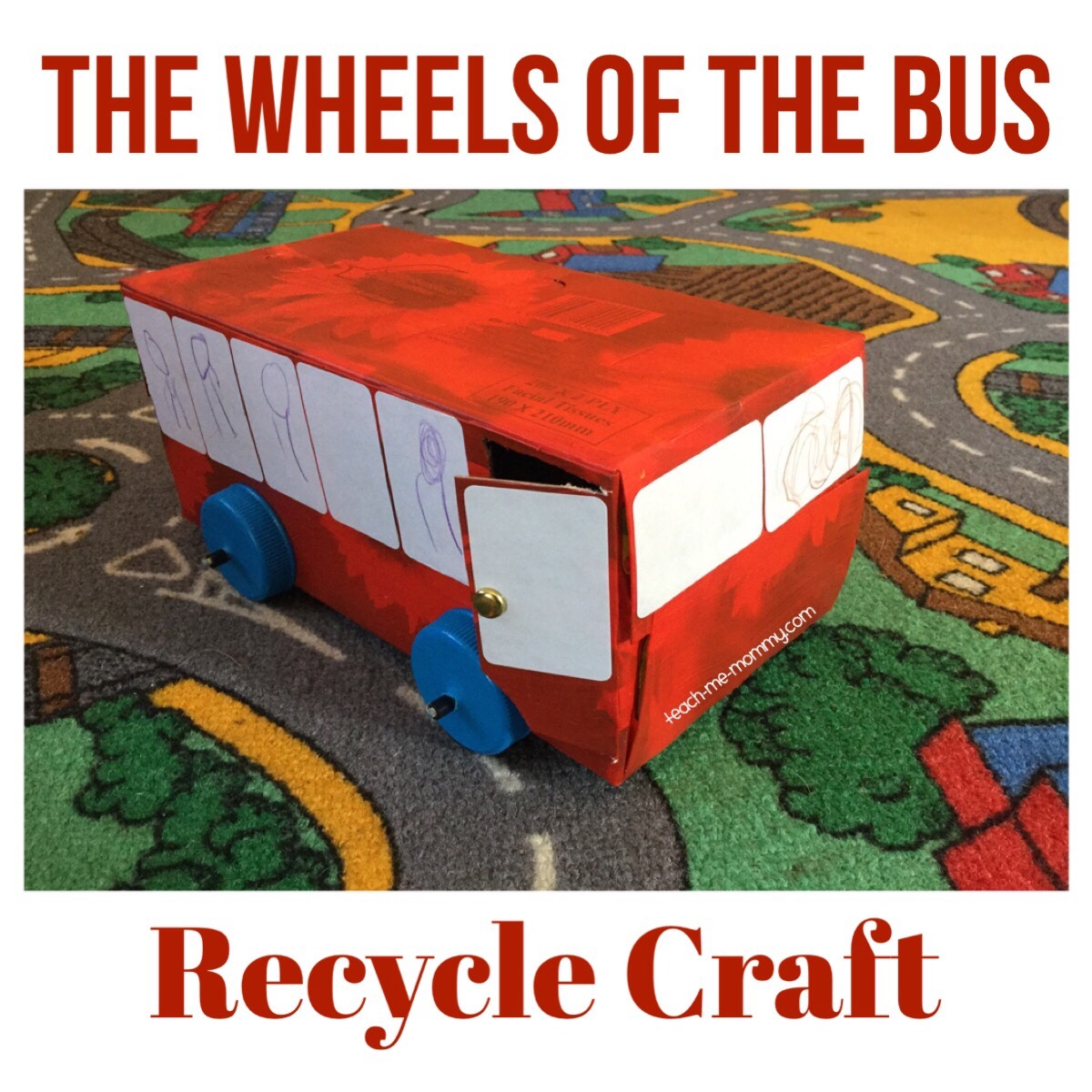 bus recycle craft
