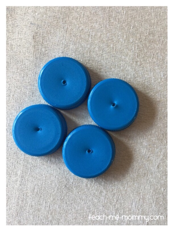 bottle tops wheels