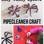 Incy Wincy Spider Pipecleaner Craft