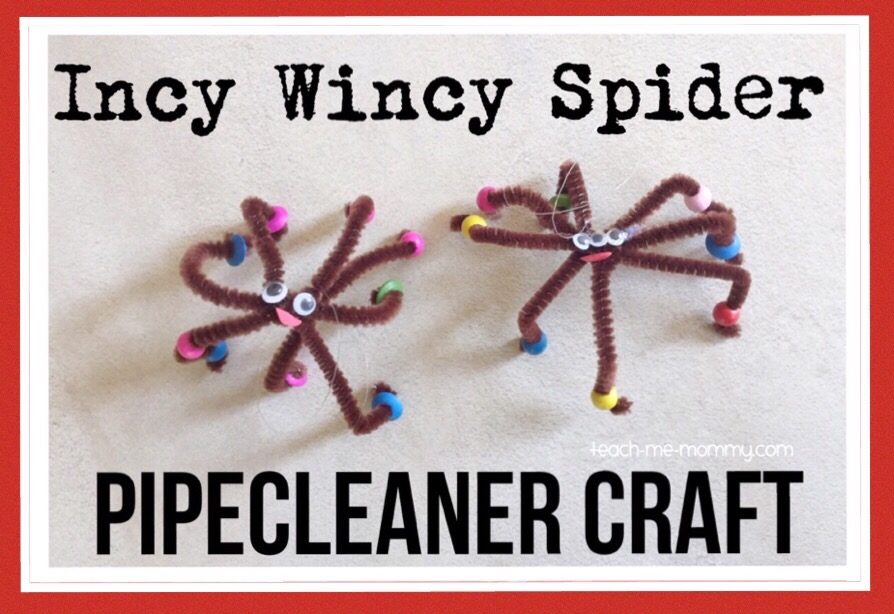 incy, wincy spider craft