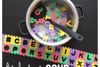 Alphabet Soup Learn and Play