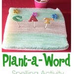 Plant-a-Word Spelling Activity