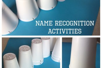 Name Recognition with Polystyrene Cups
