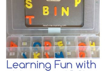 Magnetic ABC's Learning Fun