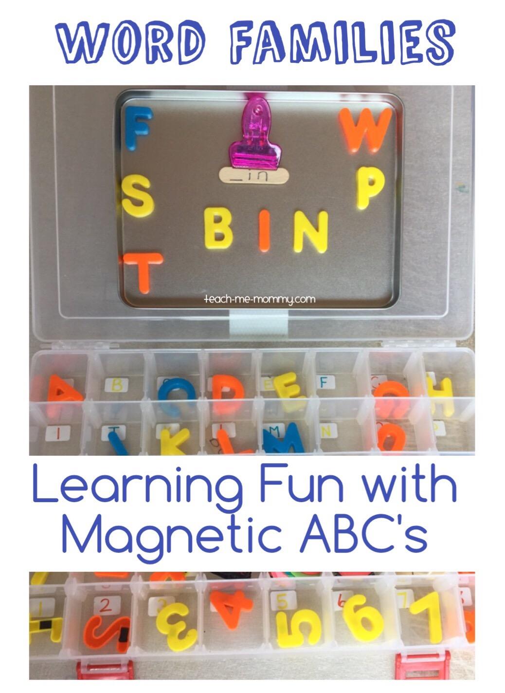 magnetic abc learning fun