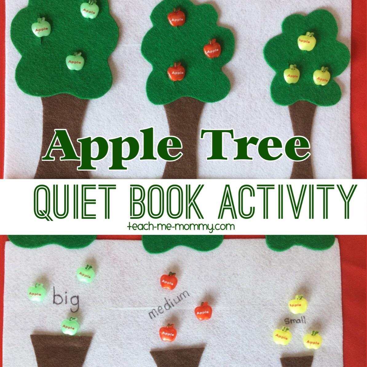 apple tree quiet book